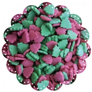 Christmas Tree Green & Red (6mm) 1kg