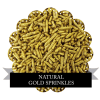 Natural Gold Sprinkles 100g Sorry out of stock