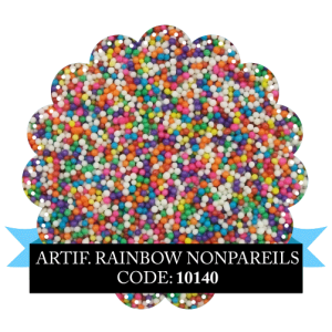 Artificial Rainbow Non Pareils 100g