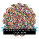 Artificial Rainbow Non Pareils 500g