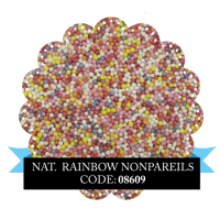 Natural Rainbow Non Pareils 100g