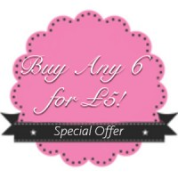 BUY ANY  6 FOR £5!