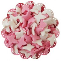 Butterflies White and Pink 100g (sorry, out of stock)