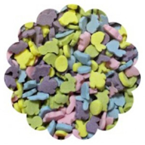 Easter Mix (Chicken & Rabbits) Natural Colours 100g