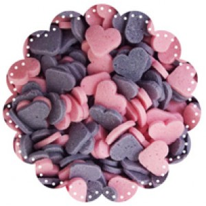 Hearts Purple and Pink 1kg