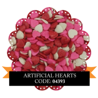 Artificial Hearts 100g Sorry, out of stock