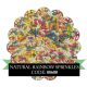 Natural Rainbow Sprinkles 500g